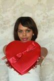 Coeur de Valentine Photo libre de droits