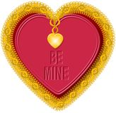 Coeur 5 de Valentine Images stock