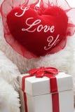 Coeur de Valentine Images libres de droits