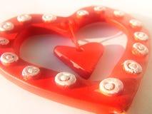 Coeur de Valentine, fond Image libre de droits