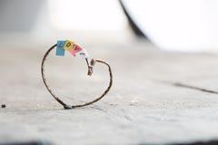 Coeur de Valentine, mariage ou carte d'amour Photos libres de droits