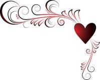 Coeur de Valentines illustration de vecteur