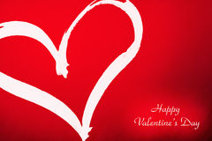 Coeur de Valentines Image stock