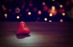 Coeur de valentines pour l'amour Photographie stock libre de droits