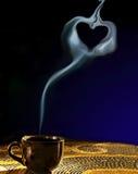 Coeur de vapeur Image libre de droits