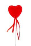 Coeur de velours Image libre de droits