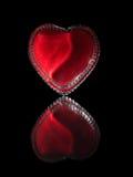 Coeur de verre Photo stock