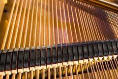 Coeur de vieux piano Photo stock