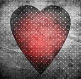 Coeur de vintage Photographie stock libre de droits