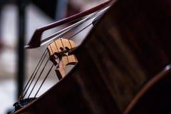 Coeur de violoncelle Image libre de droits