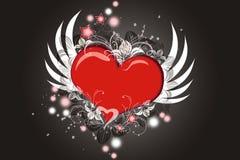 Coeur de vol Photo libre de droits