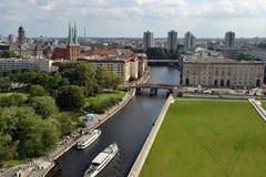 Coeur de vue de Berlin Images libres de droits