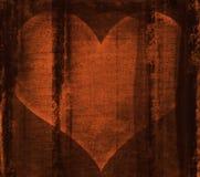Coeur derrière des bars Image libre de droits