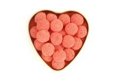 Coeur des bonbons Images libres de droits