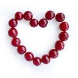 Coeur des cerises Image libre de droits