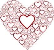 Coeur des coeurs Images stock