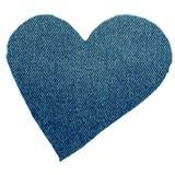 Coeur des jeans Photographie stock