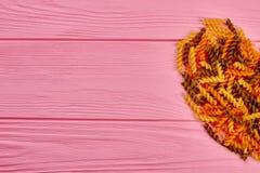 Coeur des macaronis, image cultivée Images libres de droits