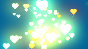 Coeur des milieux abstraits Image stock
