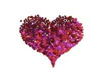 Coeur des petits coeurs images stock