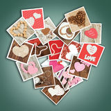 Coeur des photos Photo stock