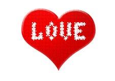 Coeur des puzzles Photo libre de droits