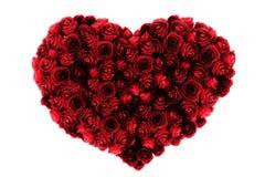 Coeur des roses Photographie stock