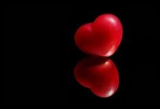 Coeur deux Images stock