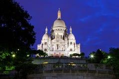 Coeur di Sacre a Parigi Immagini Stock