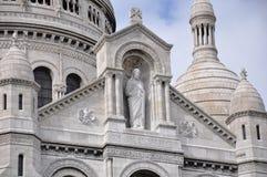 coeur du Παρίσι βασιλικών sacre Στοκ Εικόνες