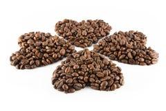 Coeur du café Image stock