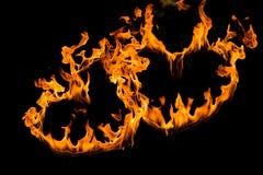 Coeur du feu Photographie stock