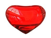 Coeur en cristal Images libres de droits