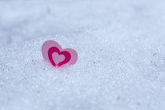 Coeur en glace images libres de droits