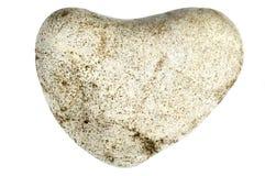 Coeur en pierre Photos stock