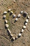 Coeur en pierre 2 Photos libres de droits