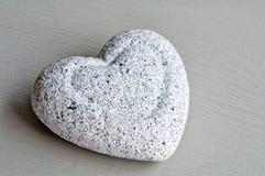 Coeur en pierre Photographie stock libre de droits