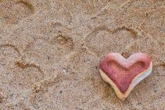 Coeur en pierre, Image libre de droits