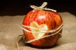 Coeur enchaîné Photographie stock