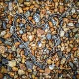 Coeur enchaîné Image stock