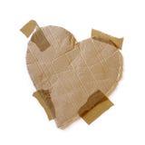 Coeur enregistré sur bande Image libre de droits