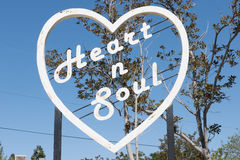 Coeur et âme Photo libre de droits