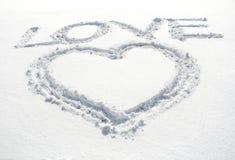 Coeur et amour Photos libres de droits