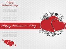 Coeur et amour de Saint-Valentin Images libres de droits