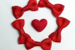 Coeur et arcs Photo stock