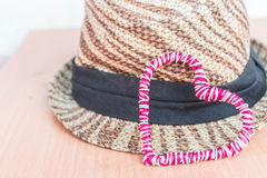 Coeur et chapeau Photo libre de droits
