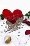 Coeur et espoir dans l'étrier Photo libre de droits