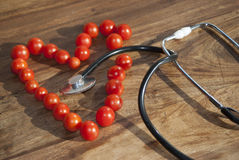 Coeur et santé Photos libres de droits