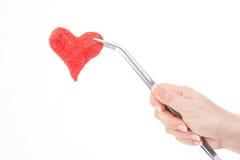 Coeur et soins de santé Photo stock