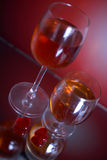 Coeur et vin Image libre de droits